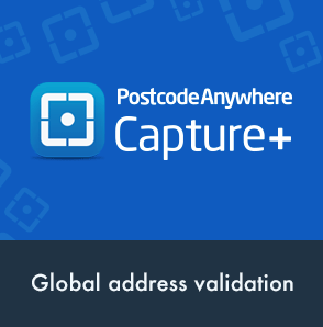 Address Validation with Capture+  Magento Extension