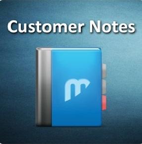 Customer Notes