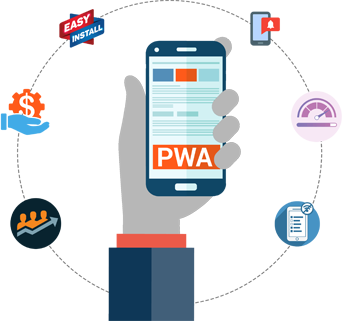 progressive web app development services